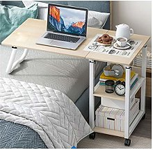 Overbed Table, Home Rolling Mobile Computer Table