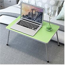 Overbed table with wheels Adjustable Lap Table,