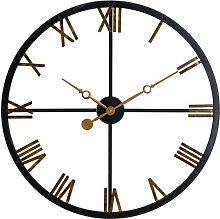 Oversized Deal 80cm Wall Clock Borough Wharf