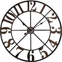Oversized Randolph 80cm Wall Clock Borough Wharf
