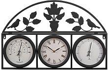 Oversized Sheri 69cm Wall Clock Rosalind Wheeler