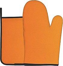 Overwatch Orange To Yellow Ombre Oven Gloves Heat