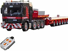 OviTop Technic Mammoet Truck Vehicle Building