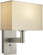 Owen Rectangular Steel Wall Lamp
