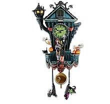 Owl's-Yard Nightmare Cuckoo Wall Clock
