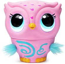 Owleez Interactive Toy Pink