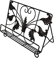 OwlGift Classic Metal Wire Cookbook Stand,