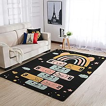 OwlOwlfan Hopscotch Bear Carpets Large Home Decor