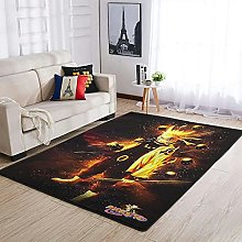 OwlOwlfan Naruto Logo Floor Rugs Modern Home Decor