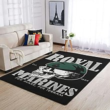 OwlOwlfan Royal Marines Carpets Comfy Durable Area