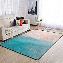 OwlOwlfan Sea Beach Area Rug Modern Durable