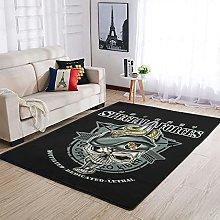 OwlOwlfan U.S.Army Specialforces Floor Rugs Comfy