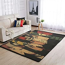 OwlOwlfan Uchiha Naruto Carpets Soft Durable