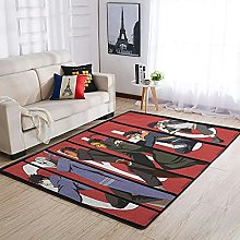 OwlOwlfan Uchiha Obito Naruto Floor Rugs Large