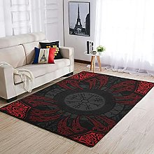 OwlOwlfan Viking Floor Rugs Modern Anti-slip