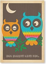 Owls by Anderson Design Group Graphic Art