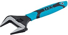 OX Pro Extra Wide Jaw Adjustable Wrench -