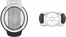 OXO 1271080 Good Grips Egg Slicer, White/Black,