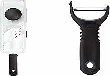 OXO Good Grips Mandoline Slicer, White/Black &