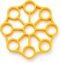 OXO Silicone Egg Rack, Yellow