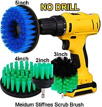 OxoxO 2inch + 3inch + 4inch + 5inch Drill Brush