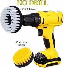 OxoxO 4 5inch Drill Brush - Soft Medium Attachment