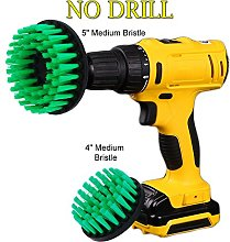 OxoxO Cleaning Brush Drill Attachment Kit - Drill