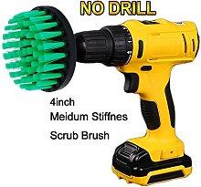 OxoxO Drill Brush - 4 inch Medium Stiffness Power