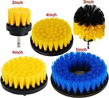 OxoxO Set of 5 Power Scrubber Cleaning Drill Brush