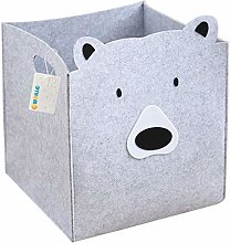 OYHOMO Foldable Cube Storage Box Animal Themed