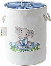 OYHOMO Kids Laundry Basket Large Foldable Fabric