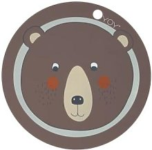 OYOY - Bear Placemat - Brown