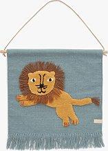 OYOY MINI Jumping Lion Wall Hanging Decoration,