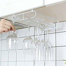 OYPY Wine Glass Holder Under Cabinet Rack Hanging