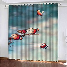OZWIUC Blackout Curtain Very Soft Solid Thermal