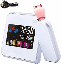OZZlOR Projection Alarm Clock Digital Alarm Clock