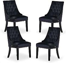 P&N Homewares - Windsor Chair - Black (4 SET)  