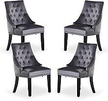 P&N Homewares - Windsor Chair - Grey (4 SET)  