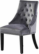 P&N Homewares - Windsor Chair - Grey (6 SET)  