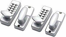 P Prettyia 2pcs Mechanical Keyless Digital Push