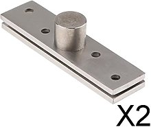 P Prettyia 2X 360 Degree Stainless Steel Concealed