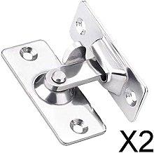 P Prettyia 2x90 Degrees Door Lock Door Lock Button