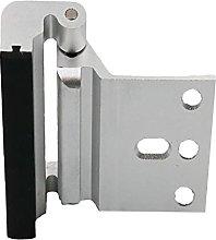 P Prettyia Home Security Door Lock Worm Swing Door
