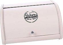 P Prettyia Iron Bread Box Retro Bin Cake Pastry