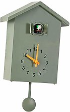 P Prettyia Sweep Wall Clock Bedside Clock Cuckoo