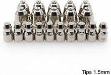 P80 Plasma Cutter Electrodes Nozzle Tips 1.5mm for