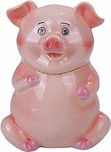 Pacific Giftware PT Cute Farm Pink Piggy Ceramic
