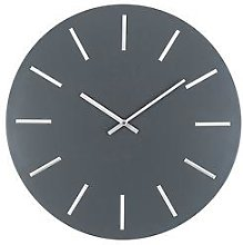 Pacific Lifestyle Matt Grey And Silver Round Metal
