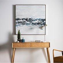 Pacific Ocean Waves - Framed Canvas Print, 102.5 x