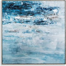 Pacific Storm - Framed Canvas Print, 102.5 x
